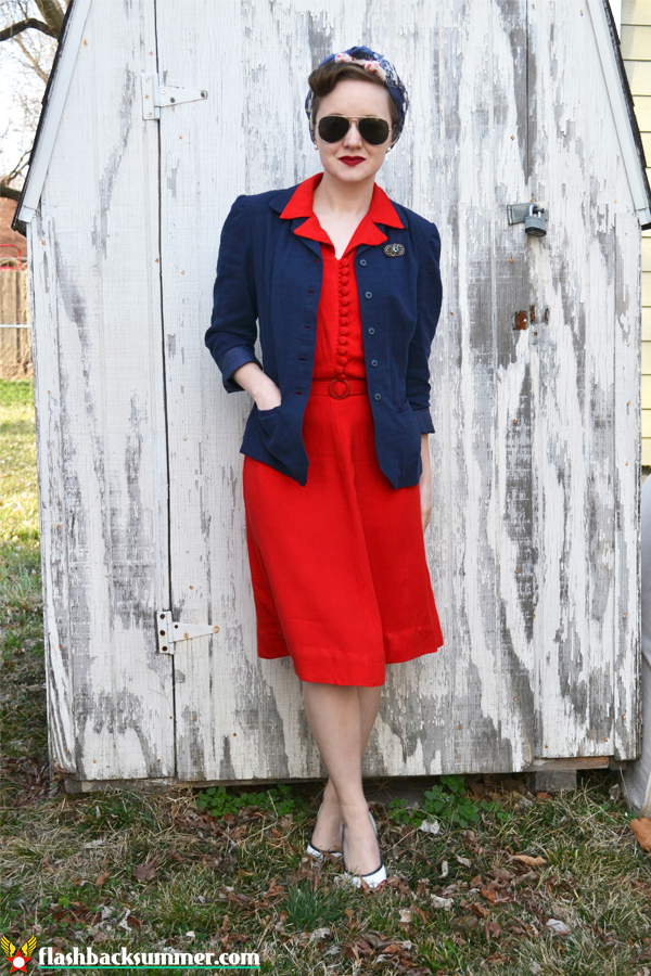 Flashback Summer: Irrational Love Outfit - 1940s vintage style