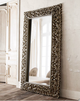Wanted floor length mirror honey we 39 re home for Black framed floor length mirror