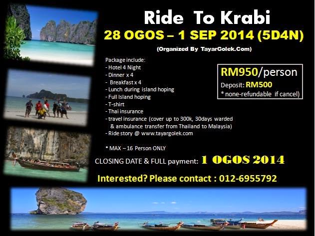 Ride to KRABI 2014