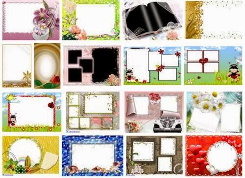 Molduras para montagem de fotos photoshop online for Molduras para espejos online