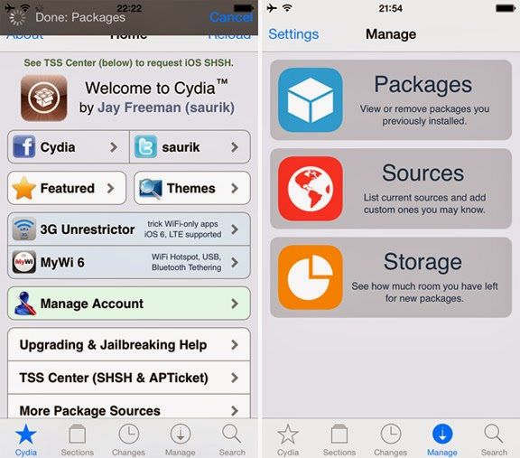 Download Cydia 1.1.9 for iOS 7 with Updated Design