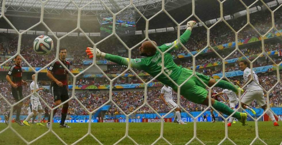 "FÚTBOL Mundial de Brasil-- EEUU 0-1 Alemania ""Müller x4"""