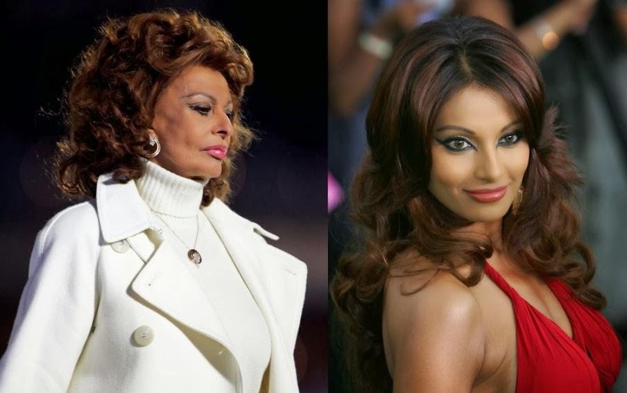 Sophia Loren And Bipasha Basu