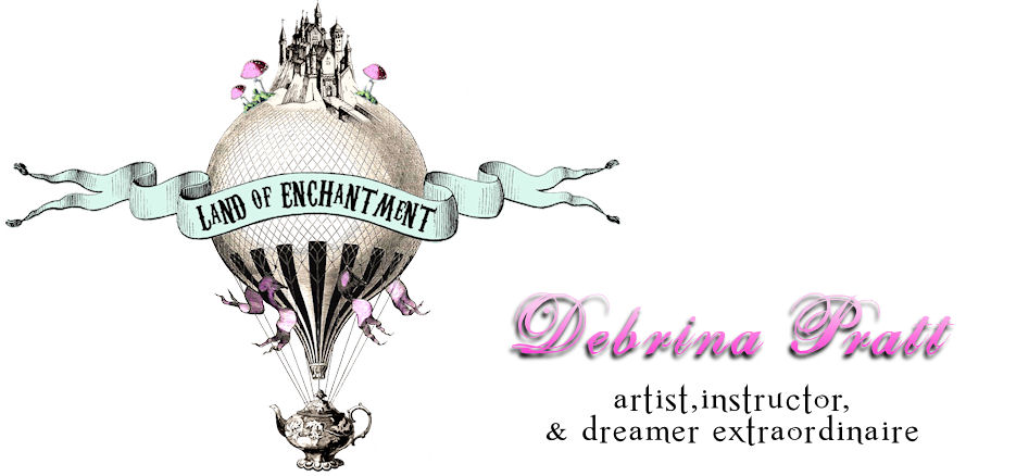 Paper Fairytale Blog of Debrina Pratt - artist/owner of Land of Enchantment