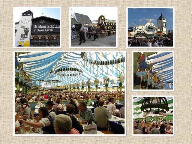 Beer party Oktoberfest Munich