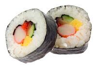 Japanese menu maki sushi