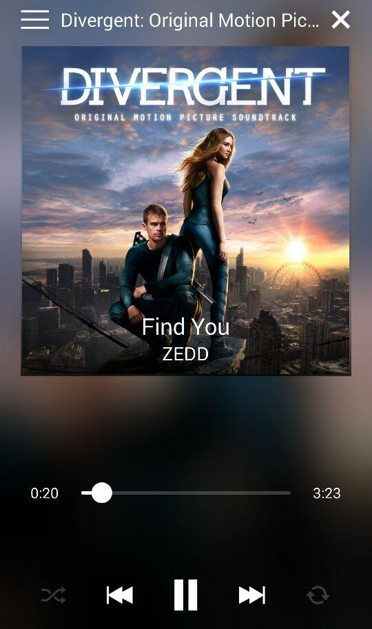 Zedd - Find You (Soundtrack Film Divergent) Lyrics