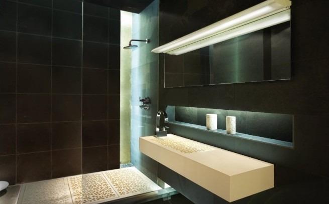 Iluminacion Baño Diseno:El rincón de las lámparas: IDEAS DE ILUMINACIÓN PARA TU BAÑO QUE