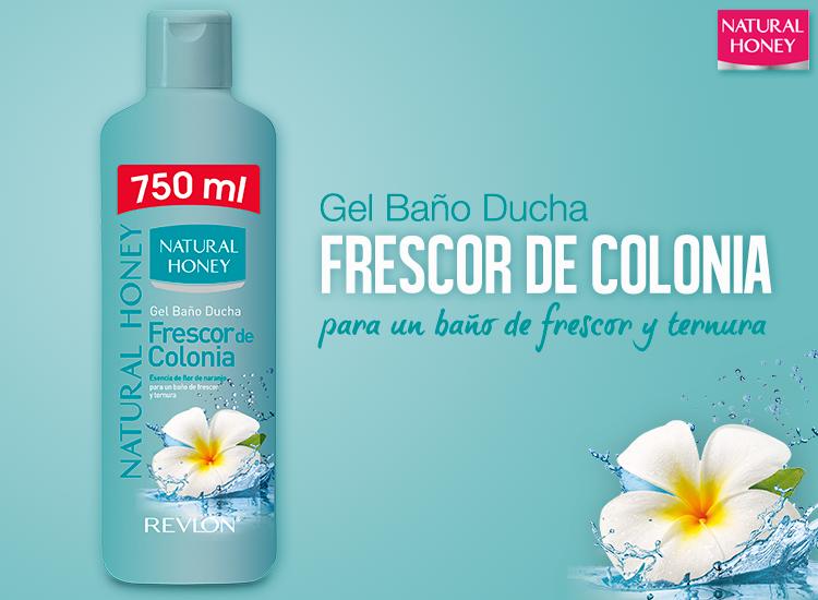 Gel Baño Frescor Verde Deliplus: de Belleza: Frescor de Colonia para un baño de frescor y ternura