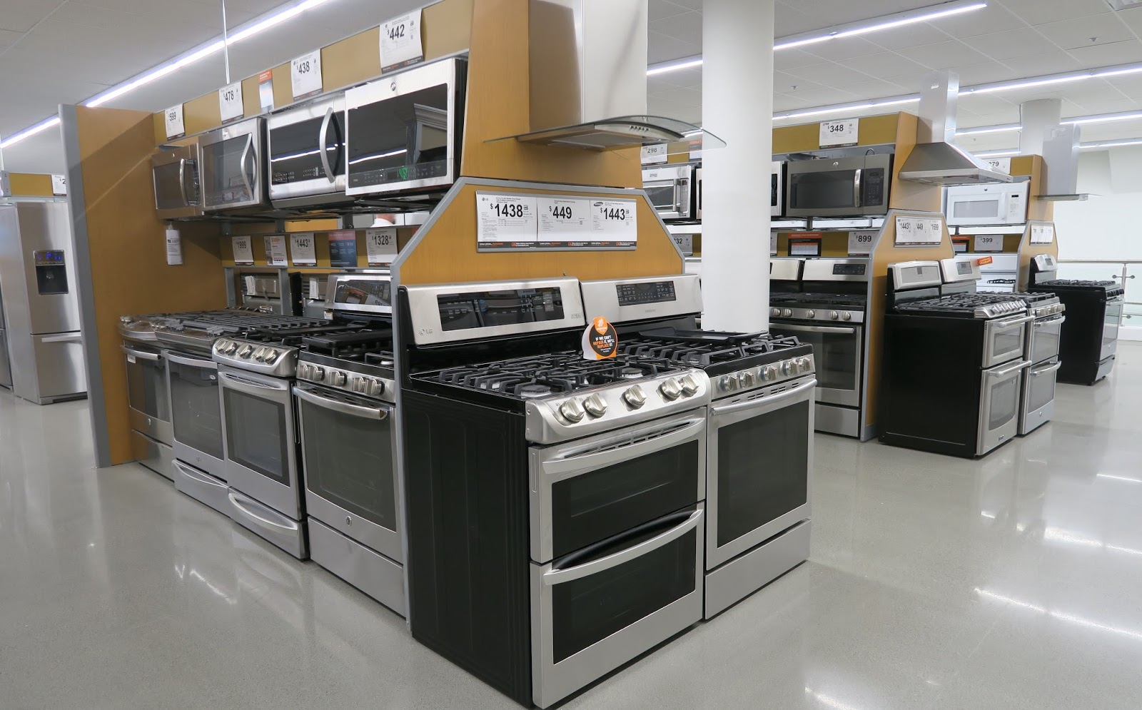 The annandale blog expanded home depot now open - Home depot kitchen appliances ...