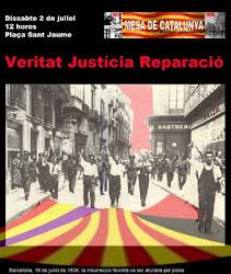 VINT-I-UNENA CONCENTRACIÓ VERITAT, JUSTÍCIA I REPARACIÓ