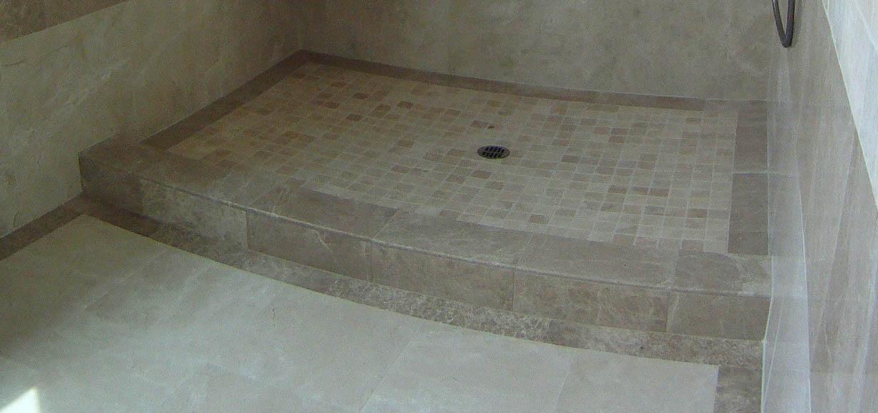 Remodeling in portland metro is your shower pan leak proof 5 popular pan methods - Shower base liner ...