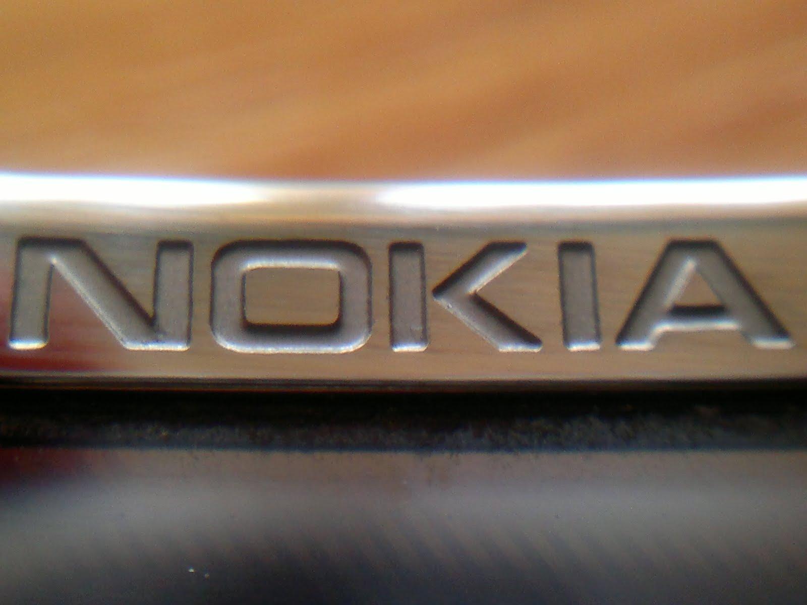 Nokia Logo Macro With My Nokia
