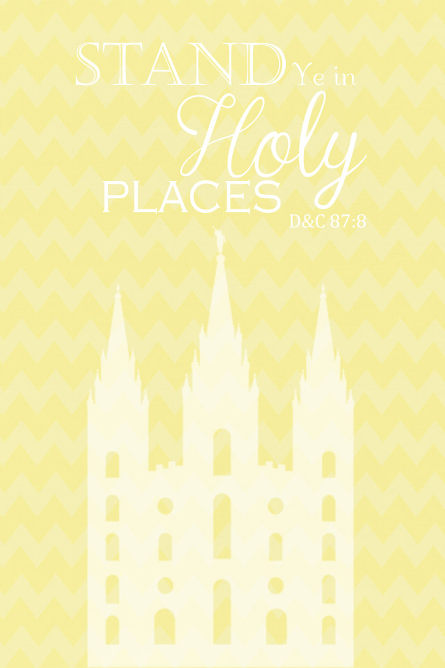 A Pocket full of LDS prints: Free LDS iphone Wallpaper