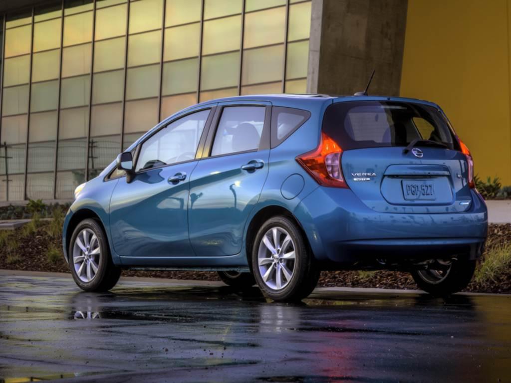 novo Nissan Versa 2014 Note Hatch será produzido no México, e