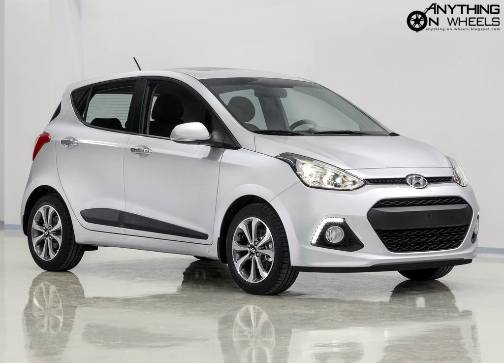 ANYTHING ON WHEELS: All-new Hyundai i10 breaks cover