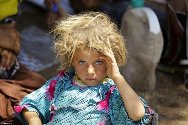 niña yazidi