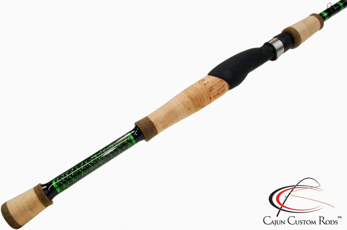 cajun custom rods inshore snook spinning rod