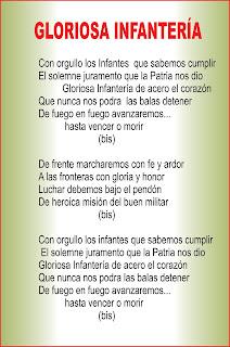 de las Fuerzas Especiales del Ejército del Perú: Himnos y Lemas