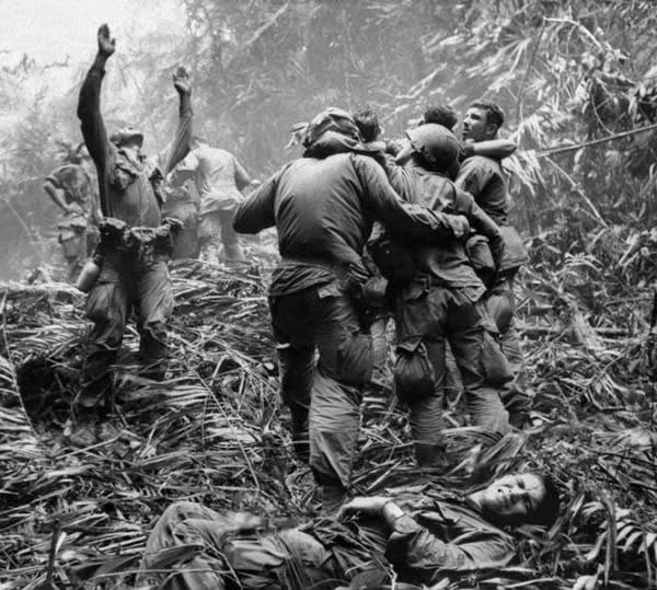 In the vietnam war, the tet offensive of 1968 showed that