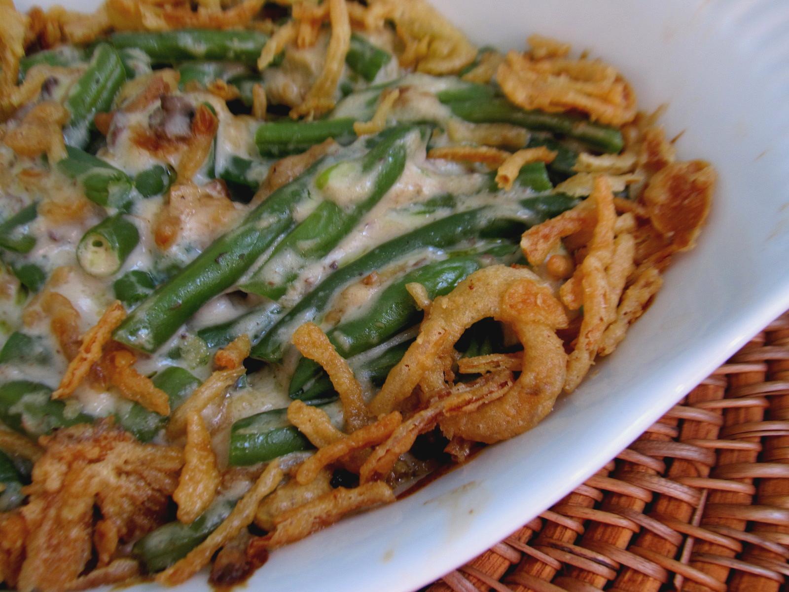 Onion Ring Green Bean Casserole Recipesbnb