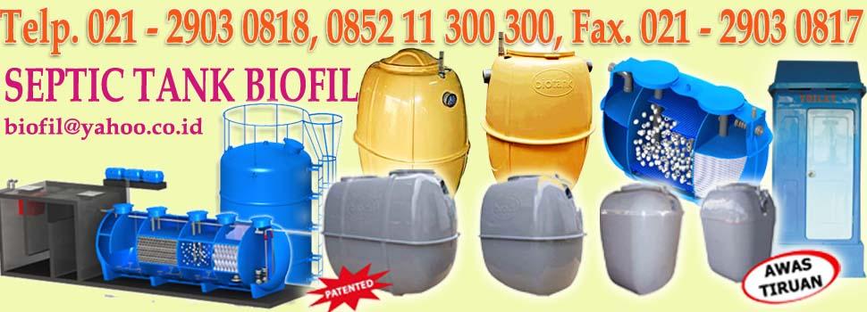 SEPTIC TANK BIOFIL, biofilter, induro, septic tank modern dan baik