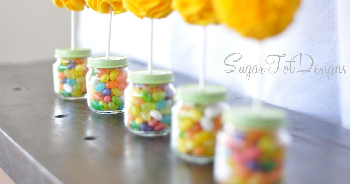 sugartotdesigns baby jar topiary felt flower tutorial. Black Bedroom Furniture Sets. Home Design Ideas
