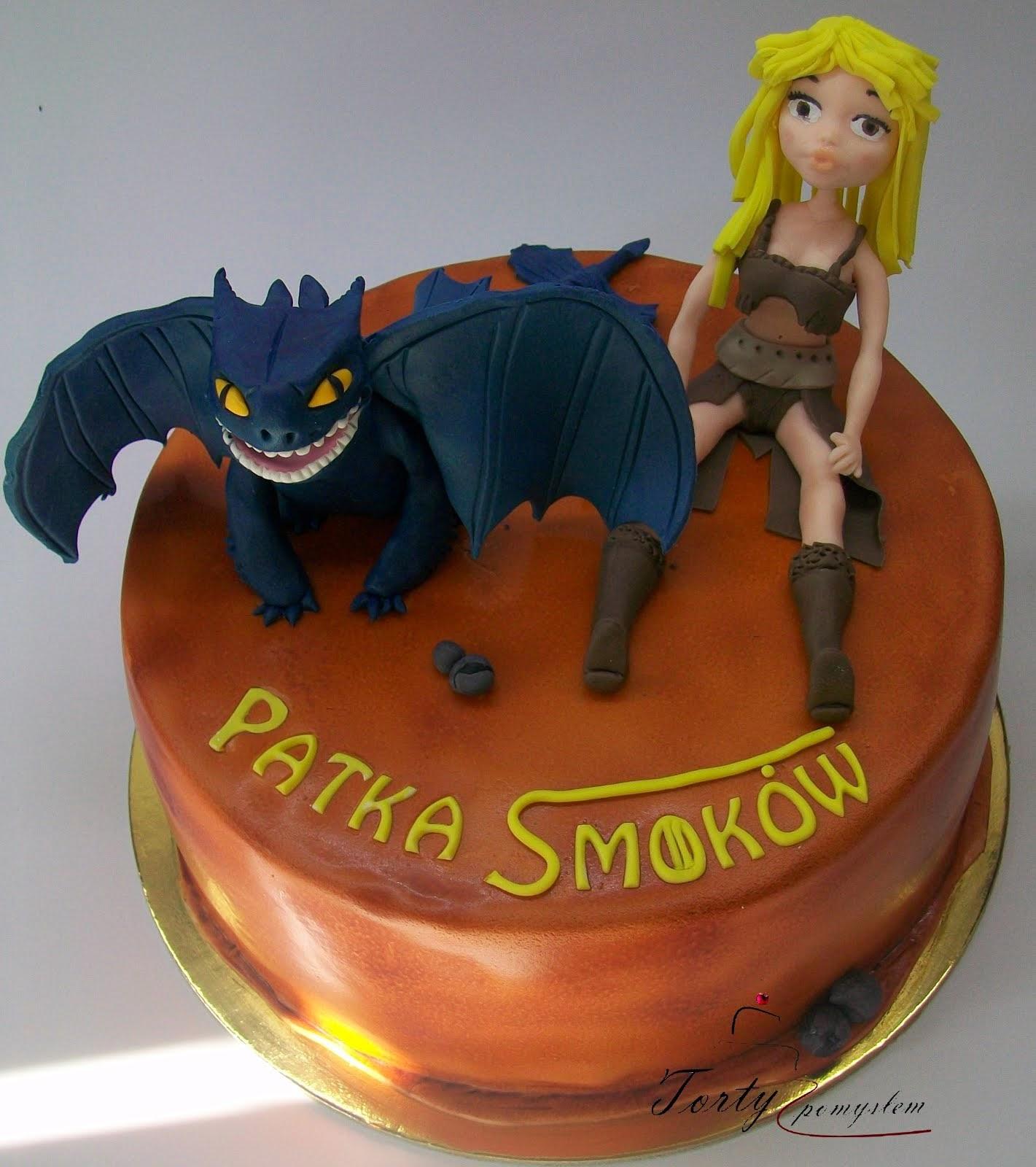 tort ze smokiem
