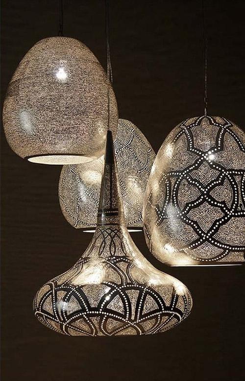 Esta colección de lámparas inspiradas en el Antiguo Egipto tiene un toque mágico