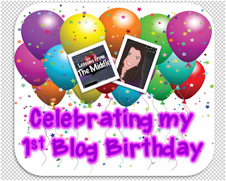 Blog Birthday Giveaway Lessons From The Middle