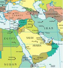 O Oriente Médio