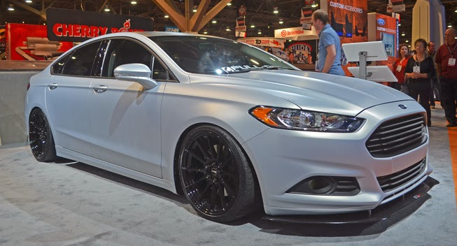 Ford Reveals 400HP Fusion at SEMA