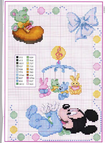 Magliamagia schemi punto croce nascita for Disney punto croce schemi gratis