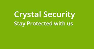 برنامج crystal security لحماية جهازك