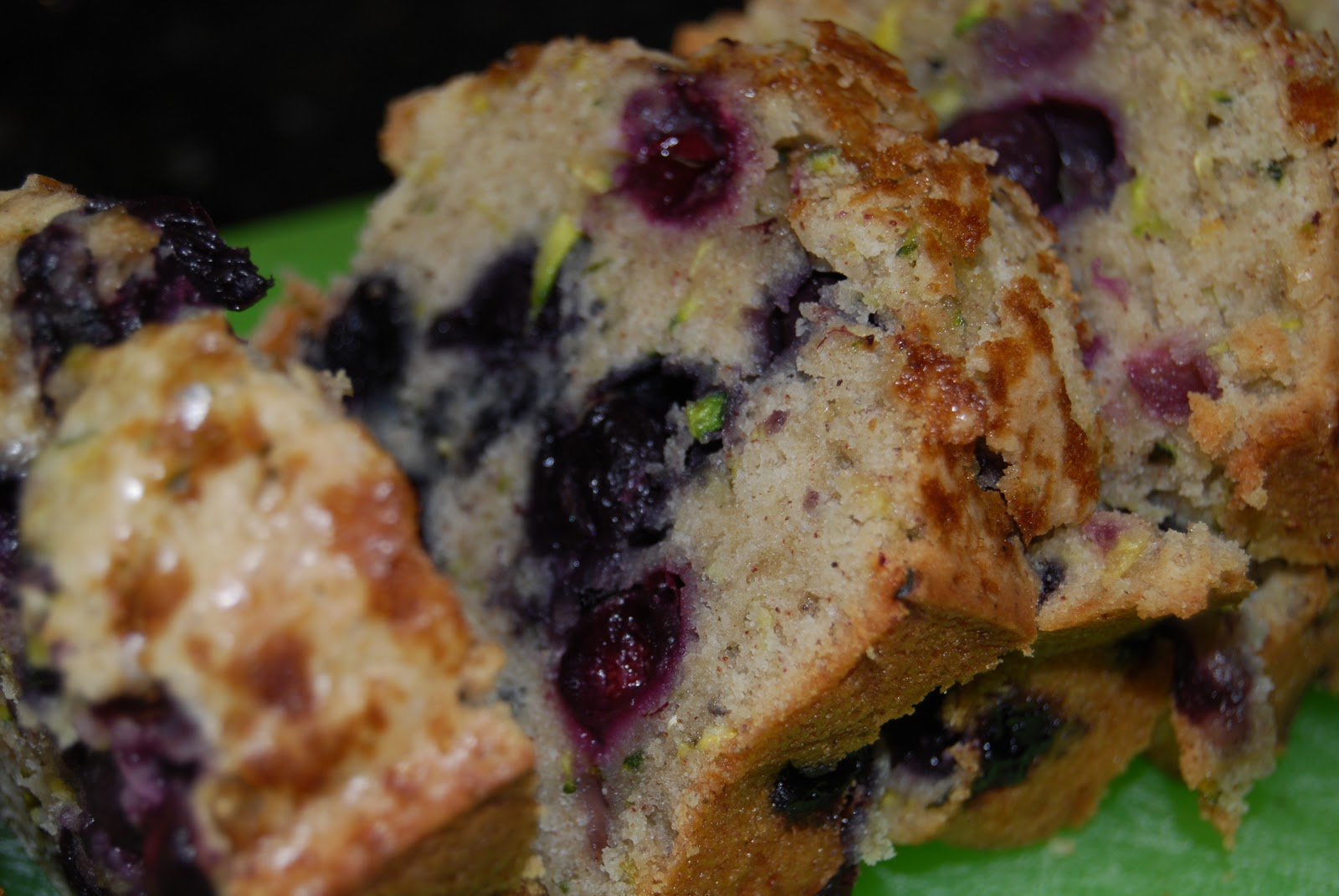 Monster Mama: Blueberry Zucchini Bread