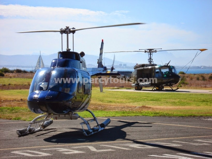 Helicopter flights, Cape Town