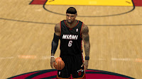 NBA 2K13 Miami Heat Jersey Patch