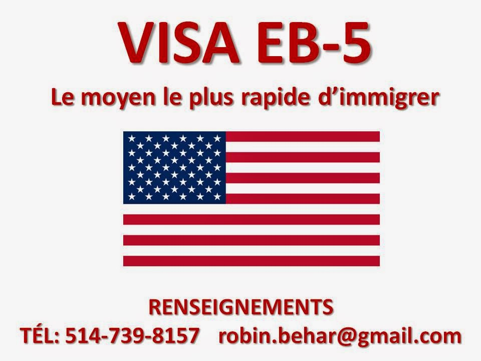 VISA IMMIGRANT-INVESTISSEUR EB-5