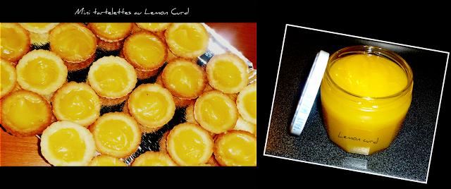 image Minis tartelettes au Lemon curd