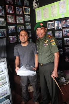 Kunjungan Bapak Mantan DANREM 043 / Gatam