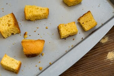 cornbread croutons