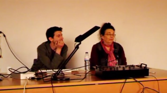 Conversation panel with American Artist Melinda Gebbie and me
