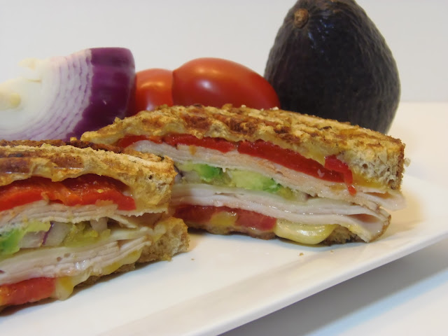 Southwestern Turkey and Chicken Panini Recipe