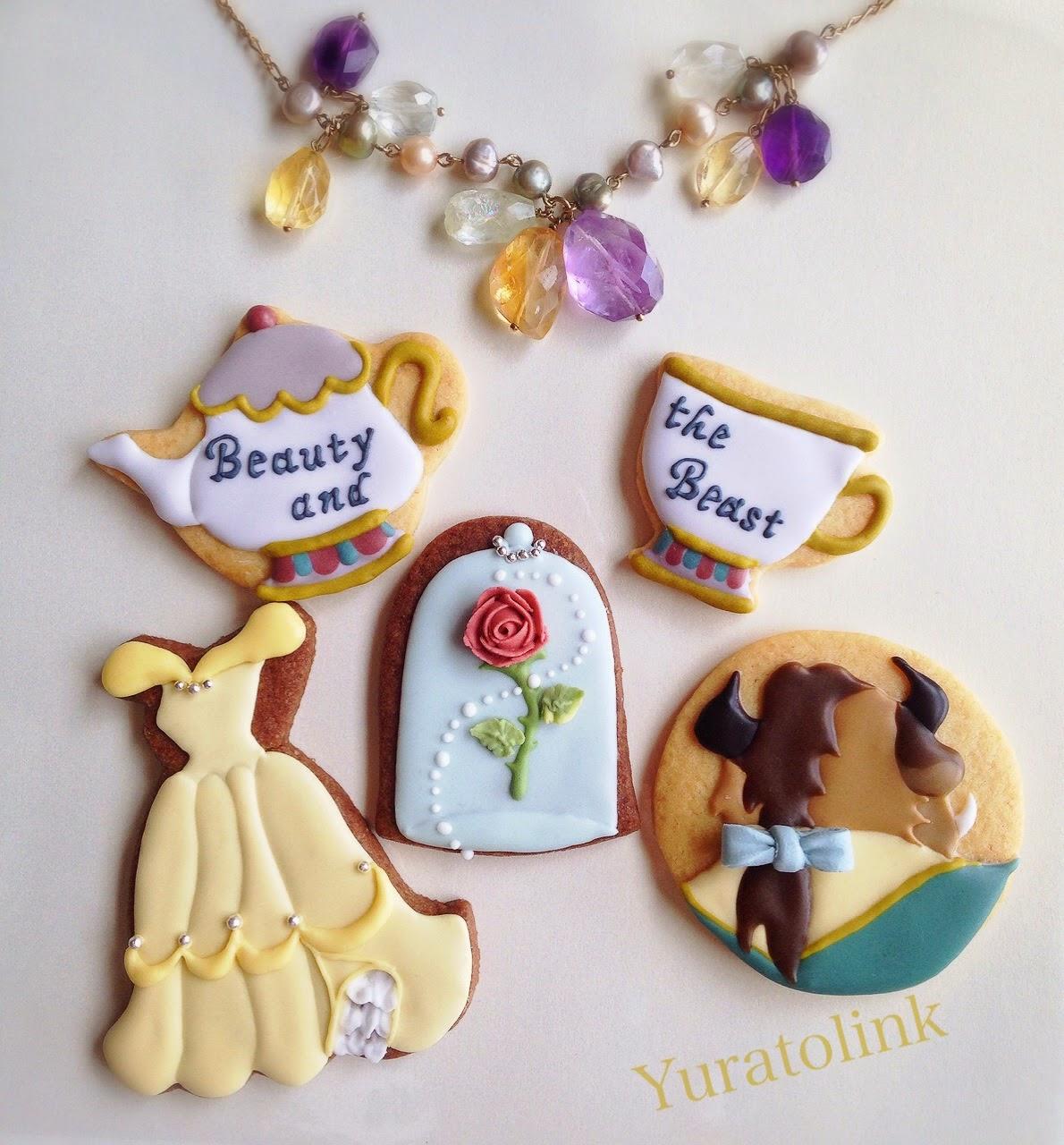物語シリーズ第三話「美女と野獣のアイシングクッキー」のサンプルが仕上がりました♪