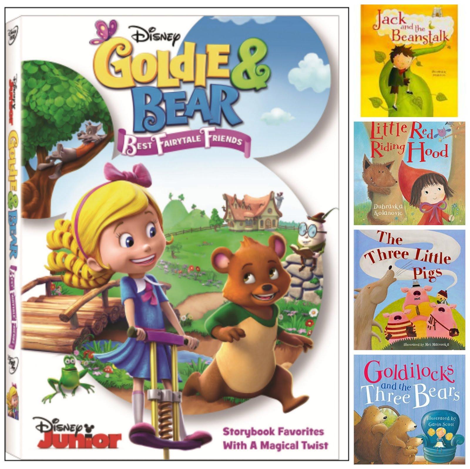 Goldie & Bear DisneyJr DVD