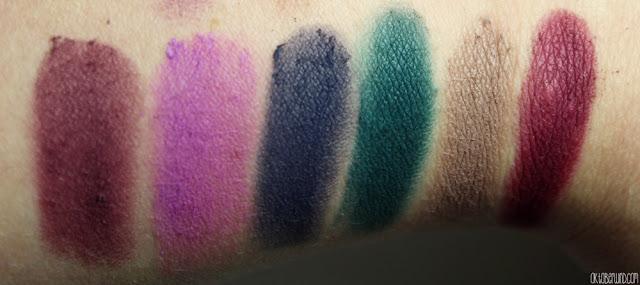 Sleek-eyeshadow-palette-force of nature - swatch