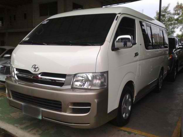 Luzviminda Travel And Tours Toyota Grandia Commuter Van For Rent