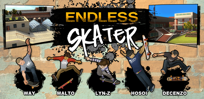 Endless Skater Apk v1.01 Full