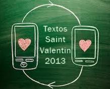 Textos St Valentin 2013