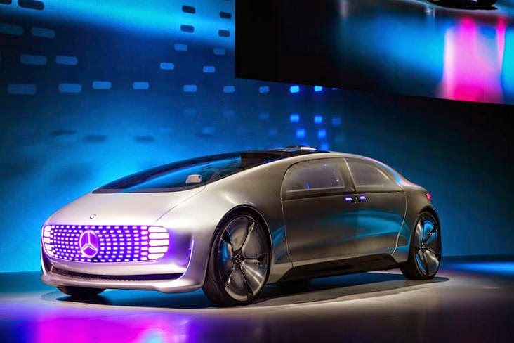 Mercedes-Benz F 015 : Luxury in Motion di ajang CES
